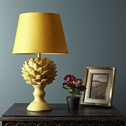 Artur Large table lamp - base only, H38 x W23cm, citrus