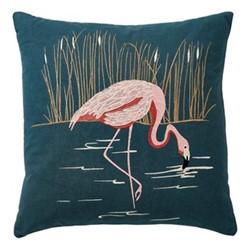 Coppice Cushion, 45 x 45cm, peacock