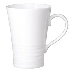 Onde White Set of 4 mugs, 30cl