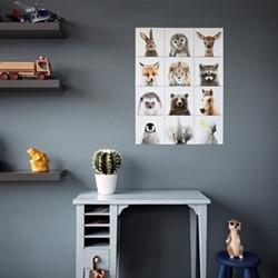 Kids - Animal Family Wall decoration