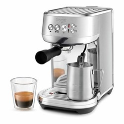 The Bambino Plus Espresso machine, 1.9 litre, brushed stainless steel