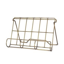 Brompton Cook book holder, H23.50 x W34 x D6.50cm, antique brass finish