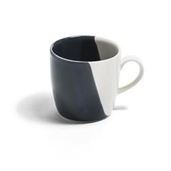 Dip Mug, Dia9cm, smoke/cream
