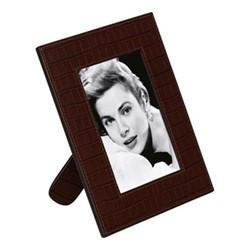 "Peter Photograph frame, 6 x 4"", brown"