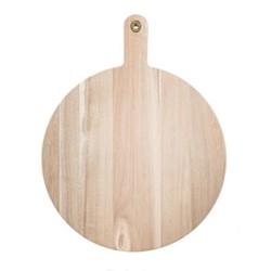 Paddle chopping board, L45.5 x W35.5cm, acacia wood