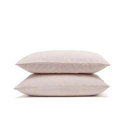 Luxe Bedding Pair of pillowcases, 50 x 75cm, rose