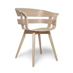 Wick Chair, 57 x 50.5 x 75cm, oak