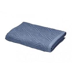 Diamond Sculpture Hand Towel, 50 x 85cm, blue
