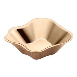 Alvar Aalto Bowl, 5 x 18.2cm, rose gold