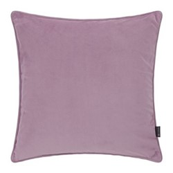 Velvet cushion, W45 x L45cm, lilac