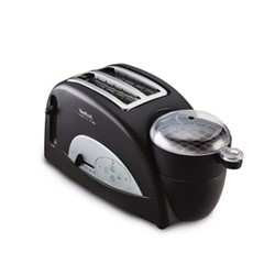 TT550015 - Toast N Egg Breakfast maker, 2 slot, black