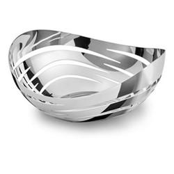 Drift Basket, H9.6 x W22cm, silver