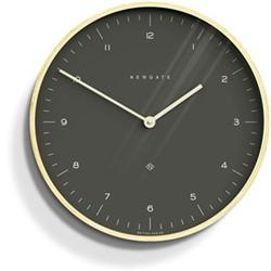Mr Clarke Wall clock, Dia53cm, oil grey