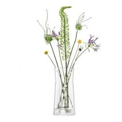 Gio Line Lantern/Vase, H38 x Dia17cm, clear