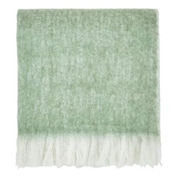 Costa Rica Fern Throw, 130 x 170cm, green