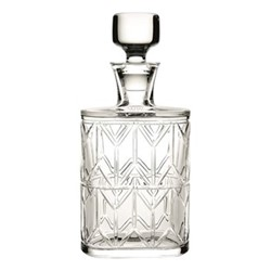 Avenue Whisky decanter, H28cm, clear