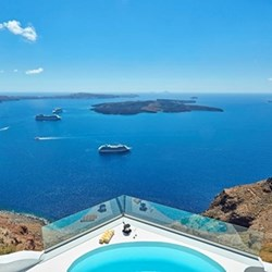 Gift Voucher towards one night at The Chromata for two, Santorini