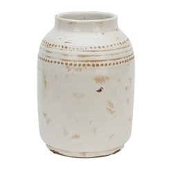 Haybrook Medium vase, H27.5 x Dia19.5cm, snow