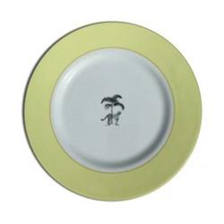 Harlequin - Yellow Cheetah Dinner plate, 26cm, yellow