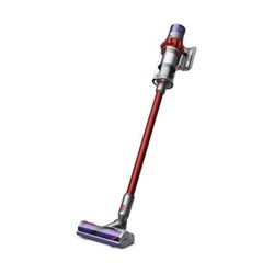 V10 - Total Clean Cyclone cordless vacuum cleaner, H25 x W25.6 x D124.9cm, red/iron