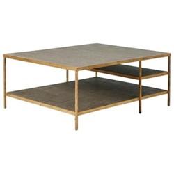 Baricella Coffee table, H46 x L90 x W110cm, natural rattan
