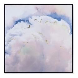 Clouds Print, H99 x W99cm