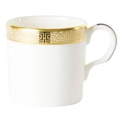 Satori Black Coffee cup, H6cm, black/white/gold