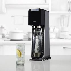 Power Machine Sparkling water maker, black