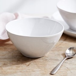 Portobello Cereal bowl, H7.4 x Dia15cm, white