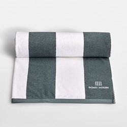 House Pool towel, L180 x W99cm, Grey