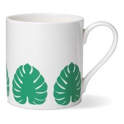 Tropical Leaf Mug, Dia8.5cm