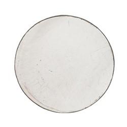 Corinium Ornamental platter, D40 x H4cm, white