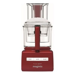 5200 XL Food processor - 18585, 1.1kW - 3.6 litre, red