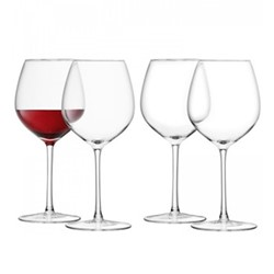 Wine Set of 4 red wine glasses, 400ml, clear