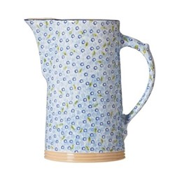 Lawn XL jug, H26cm, light blue