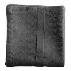 Herringbone Kitchen towel, 53 x 86cm, dark grey