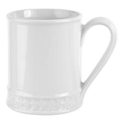 Botanic Garden Harmony Set of 4 tankard mugs, 45cl, white