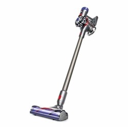 V8 - Animal Cordless handheld vacuum cleaner, 350W - H124 x W25 x D22.5cm, nickel/titanium