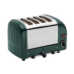Classic Vario 4 slot toaster, evergreen