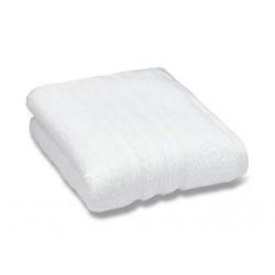 Zero Twist Pair of face cloths, 30 x 30cm, white