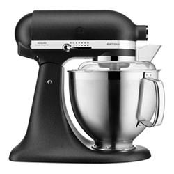 Artisan Tilt Head Stand mixer, 4.8 litre, cast iron black