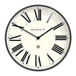 Music Hall Wall clock, Dia60cm, blizzard grey