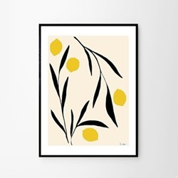 Lemon - Anna Morner Art print, H70 x D50cm, Multi