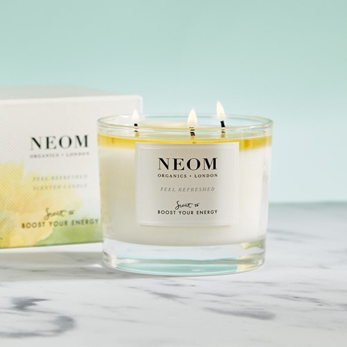 Scent to Boost Your Energy 3 wick scented candle