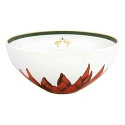 Amazonia Salad bowl, D25.5 x H13cm, green