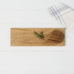 Serving board, L30 x W20 x H2cm, oak