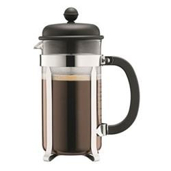 Caffettiera 8 cup coffee maker, 1 litre, black