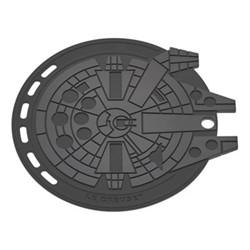 Star Wars - Millennium Falcon Multimat, 22cm, flint