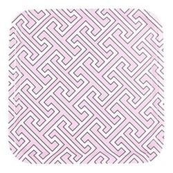 Maze Square tray, 32 x 32cm, pink