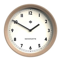 The General Wall clock, 44 x 7cm, solid oak
